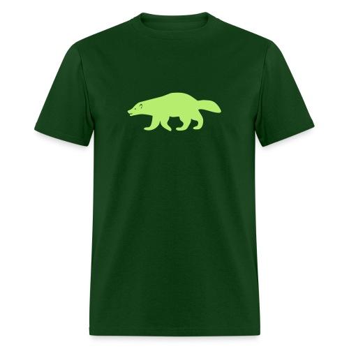 t-shirt wolverine glutton hog cormorant gannet eat greedy animal - Men's T-Shirt