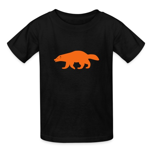 t-shirt wolverine glutton hog cormorant gannet eat greedy animal - Kids' T-Shirt