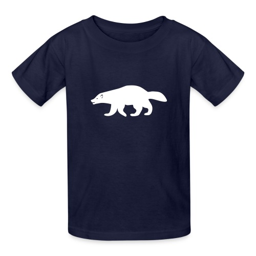 t-shirt wolverine glutton hog cormorant gannet eat greedy animal - Kids' T-Shirt