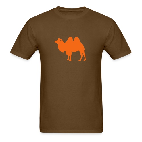 t-shirt camel dromedary desert oasis caravan australia animal - Men's T-Shirt