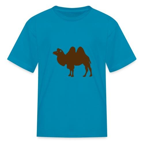 t-shirt camel dromedary desert oasis caravan australia animal - Kids' T-Shirt