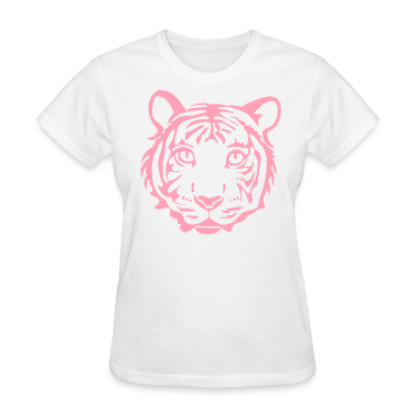 tiger cat cheetah lion wild predator hunter hunting animal jungle Women's T-Shirts
