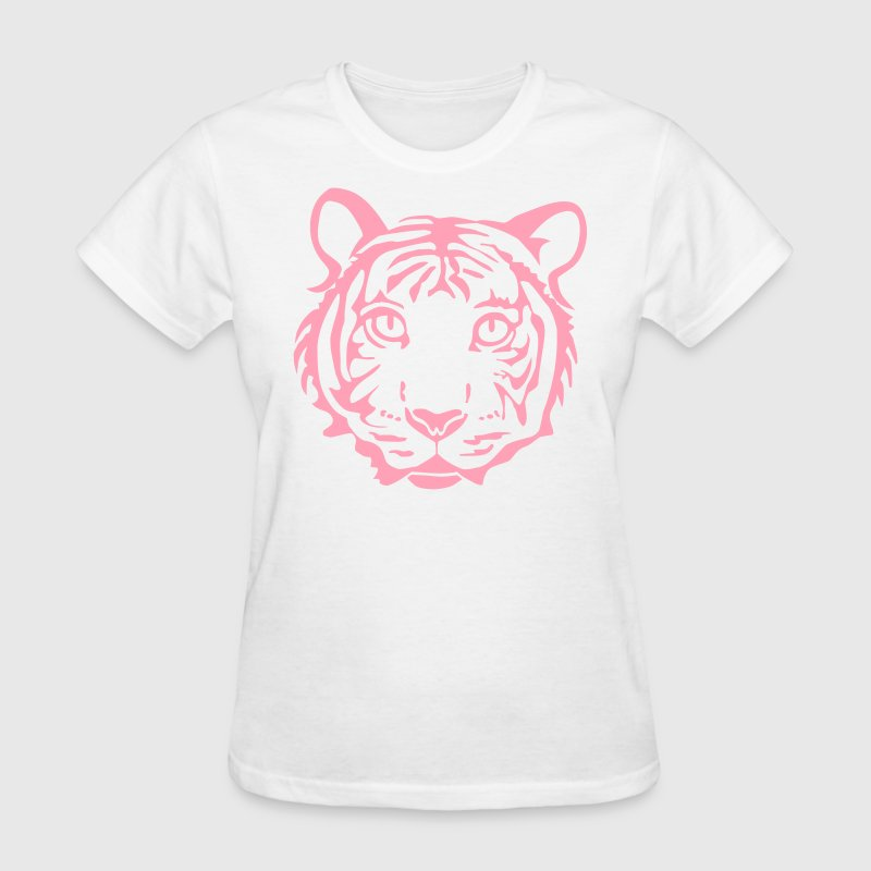 tiger cat cheetah lion wild predator hunter hunting animal jungle Women's T-Shirts - Women's T-Shirt