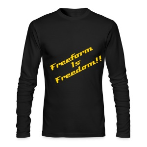 The Free Tee(Men) - Men's Long Sleeve T-Shirt by Next Level