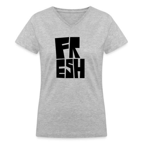 Fresh - Women's V-Neck T-Shirt