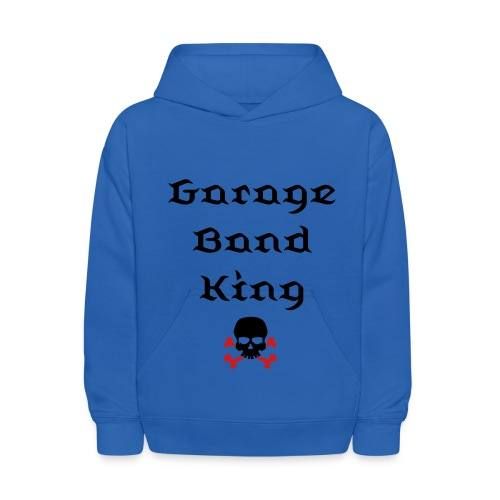 Garage Band King - Kids' Hoodie