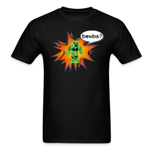 Mens Tee : Bewbs? - Men's T-Shirt