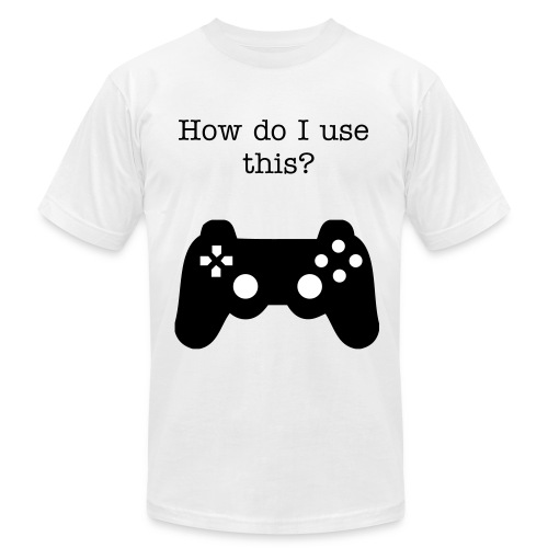 What is this? - Men's Fine Jersey T-Shirt