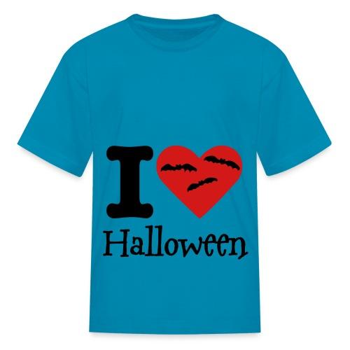 I love Halloween - Kids' T-Shirt