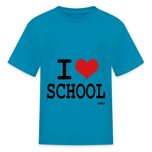 I love School lol - Kids' T-Shirt