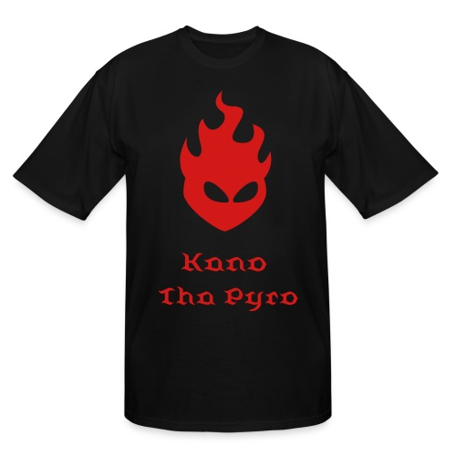 Fire Head 1c - Men's Tall T-Shirt