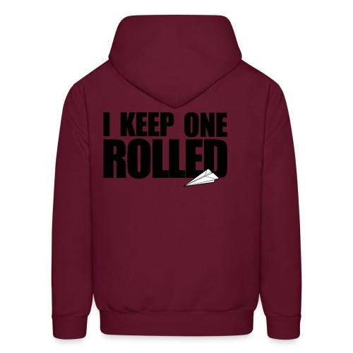 Women I keep one rolled hoodie - Men's Hoodie