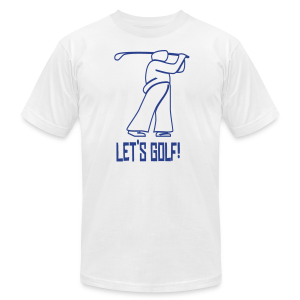 Let's Golf! - Men's Fine Jersey T-Shirt