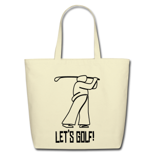 Let's Golf! - Eco-Friendly Cotton Tote
