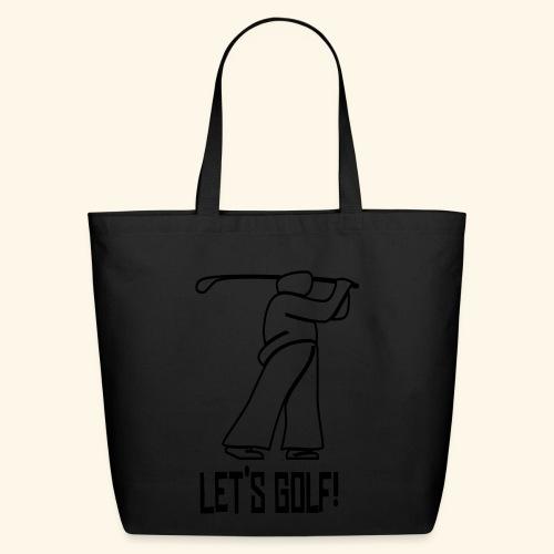 Let's Golf! - Eco-Friendly Cotton Tote