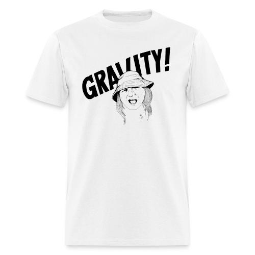 Gravity, sage color, image on front only - Men's T-Shirt