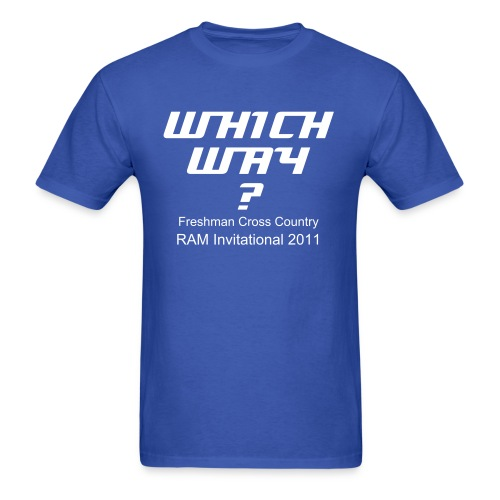 Which Way? - Men's T-Shirt