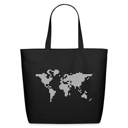 What a pixelous world - Eco-Friendly Cotton Tote