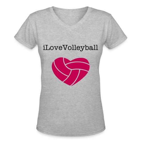 VolleyBallersWelcome - Women's V-Neck T-Shirt