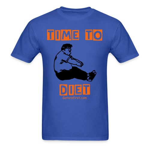 Time to Diet! - Men's T-Shirt