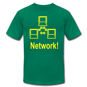 Network! - Men's T-Shirt by American Apparel