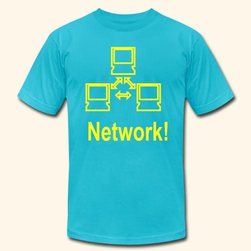 Network! - Men's  Jersey T-Shirt