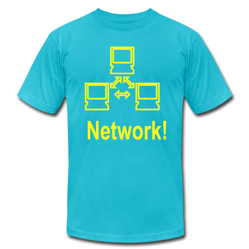Network! - Men's Fine Jersey T-Shirt