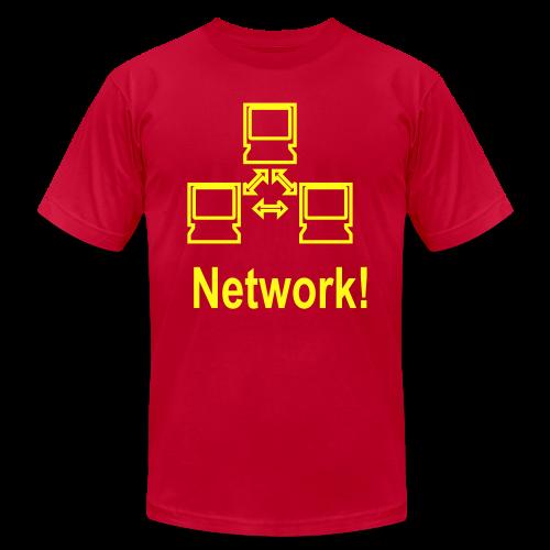 Network! - Men's Fine Jersey T-Shirt