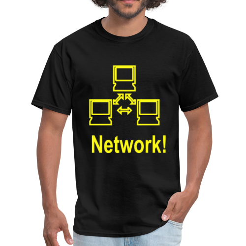 Network! - Men's T-Shirt