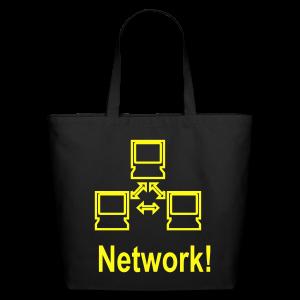 Network! - Eco-Friendly Cotton Tote