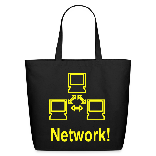 Network! - Eco-Friendly Cotton Tote