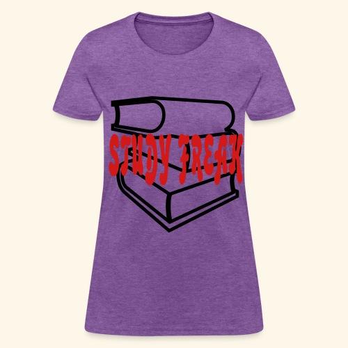 Study Freak - Women's T-Shirt