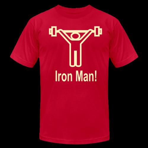 Iron Man - Men's Fine Jersey T-Shirt