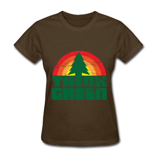 Think Green Women's t-shirt - Women's T-Shirt