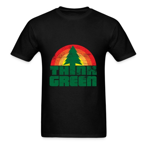 Think Green t-shirt - Men's T-Shirt