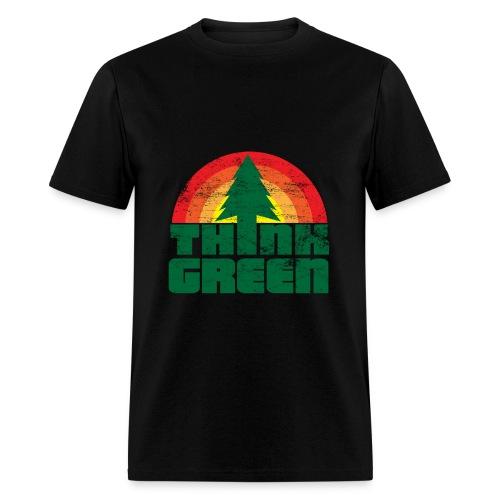 Think Green t-shirt - Men's T-Shirt