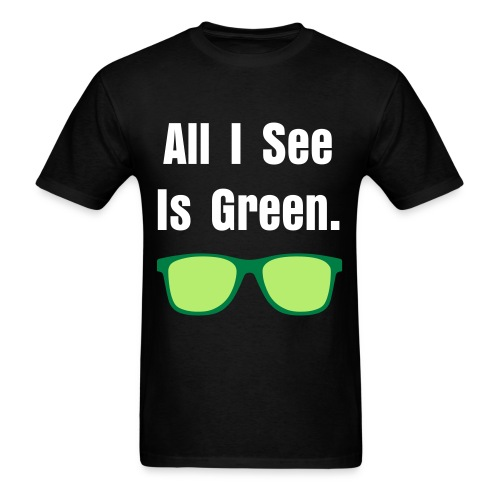 all i see - Men's T-Shirt