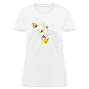 Butterfly Girl - Women's T-Shirt