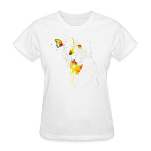 Butterfly Girl - Women's T-Shirt