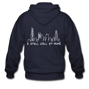 I Still Call It Home - Men's Zip Hoodie