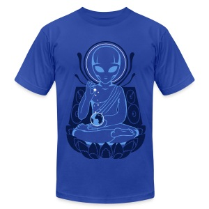 Alien Enlightment - Men's T-Shirt by American Apparel