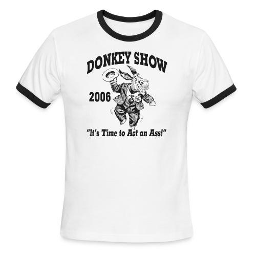 Donkey Show - Men's Ringer T-Shirt