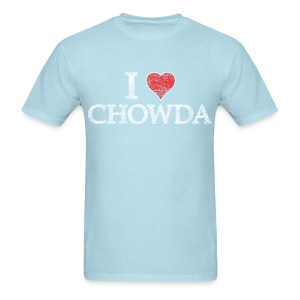 I Heart Chowda - Men's T-Shirt