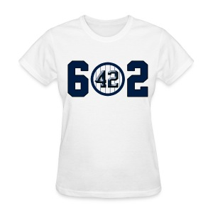 Mariano Rivera Style 602 Saves T-shirt - Women's T-Shirt