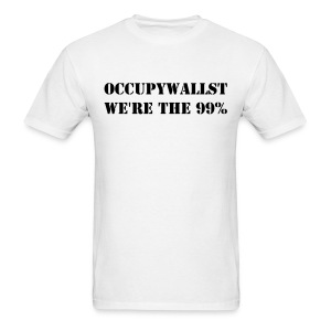 #OccupyWallST - Men's T-Shirt