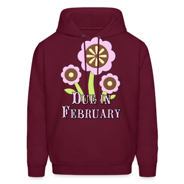 Due in February Expectant Mother Hoodies