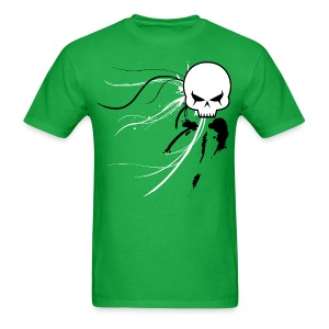 Cyber Skull Graffiti - Men's T-Shirt