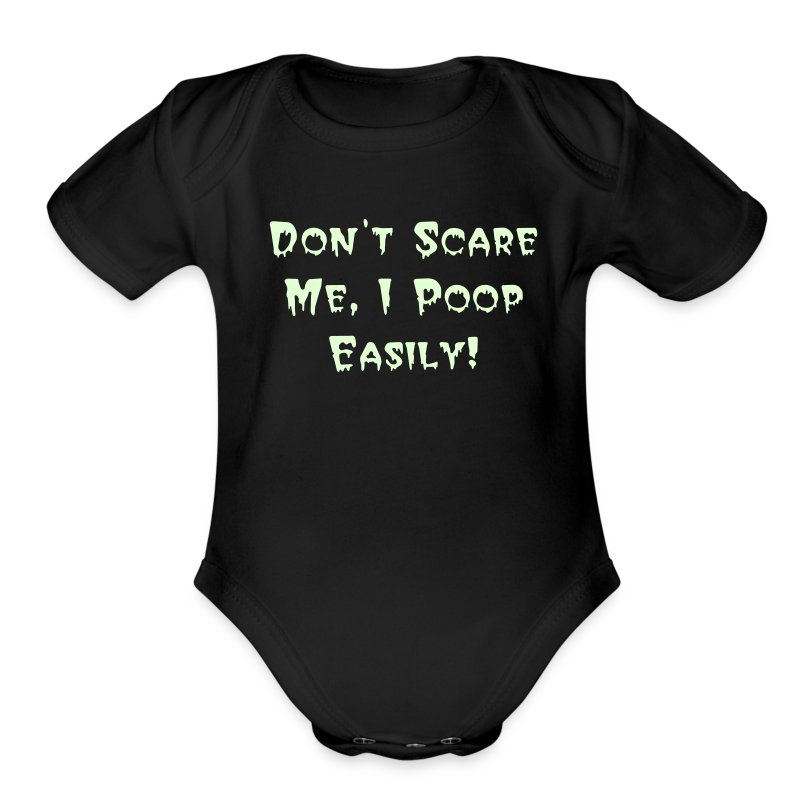 Don't Scare Me Infant - Short Sleeve Baby Bodysuit