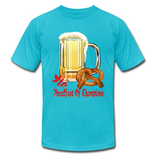 Breakfast Of Champions-Happy Oktoberfest! - Men's Fine Jersey T-Shirt