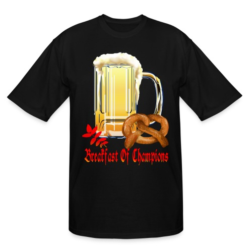Breakfast Of Champions-Happy Oktoberfest! - Men's Tall T-Shirt